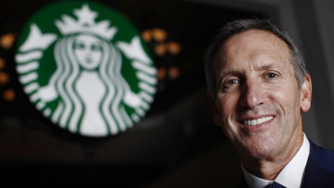 Howard schultz conquering the world with coffee for Who are the owners of starbucks