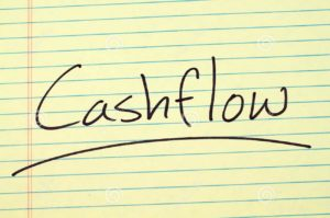 word cashflow underlined yellow legal pad 100603738 e1569280324331 300x199 - Cash flow is key to business success when consumer confidence is low